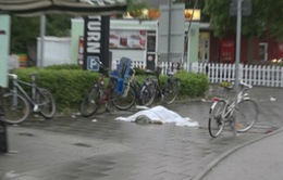 Những hình ảnh hiện trường kinh hoàng về vụ xả súng tại Đức