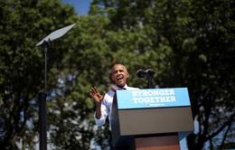 Tổng thống Obama hỗ trợ bà Clinton giữa lúc ồn ào về sức khỏe