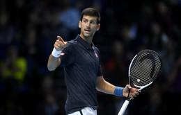 ATP World Tour Finals: Thắng thuyết phục trước Goffin, Djokovic tạm giữ ngôi số 1 thế giới