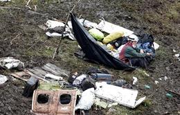 Máy bay rơi ở Colombia do hết nhiên liệu