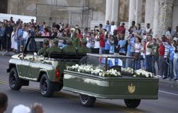 Nơi an nghỉ cuối cùng của lãnh tụ Fidel Castro