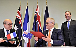 Australia và Pháp ký thỏa thuận đóng tàu ngầm