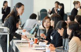 2,2% phụ nữ Nhật Bản giữ vị trí chủ chốt trong doanh nghiệp