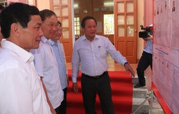 Bộ trưởng Bộ TT&TT kiểm tra công tác bầu cử tại Tuyên Quang