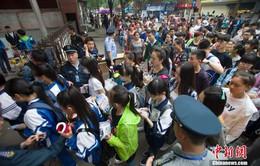Gần 10 triệu học sinh Trung Quốc bước vào kì thi siêu khắc nghiệt