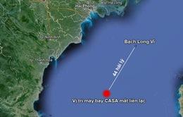 Thành lập sở chỉ huy trên thực địa tìm kiếm máy bay CASA 212