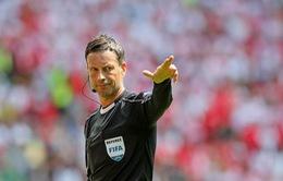 EURO 2016: Trọng tài Mark Clattenburg bắt chính trận chung kết Pháp – Bồ Đào Nha
