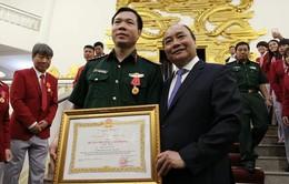 Thủ tướng Nguyễn Xuân Phúc gặp gỡ và chúc mừng đoàn Thể thao Việt Nam