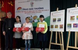 Việt Nam giành 8 giải thưởng vẽ nhật ký bằng tranh dành cho trẻ em châu Á