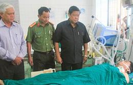 Kon Tum: Thiếu úy công an trúng đạn đã qua cơn nguy kịch