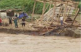 Mưa lũ tại Thanh Hóa gây thiệt hại gần 100 tỷ đồng
