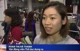 ĐT thể dục dụng cụ Việt Nam hân hoan ngày về nước
