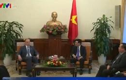 Phó Thủ tướng Phạm Bình Minh tiếp Thư ký Hội đồng An ninh LB Nga