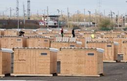 Lập trại di cư nhân đạo đầu tiên tại Calais, Pháp