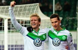 Hàng thải của Chelsea lập công đưa Wolfsburg vào top 8 đội mạnh nhất