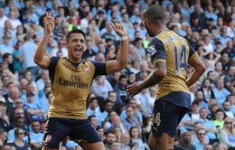 Man City 2-2 Arsenal: Sanchez báo tin vui cho Man Utd