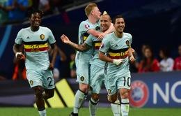 Những con số trước vòng tứ kết EURO 2016: Cứ 46 phút lại có một bàn thắng!