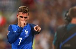 """EURO 2016: Griezmann chiếm ưu thế tuyệt đối cuộc đua danh hiệu """"Vua phá lưới"""""""