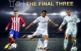 UEFA công bố Top 3 cầu thủ hay nhất châu Âu: Cú sốc Messi!
