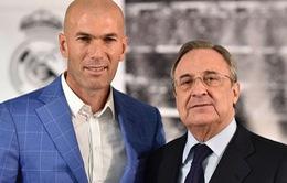 Chủ tịch Real Madrid: Với Zidane, không có gì là không thể