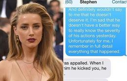 Trợ lý của Johnny Depp tố Amber Heard ngụy tạo tin nhắn