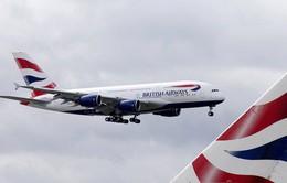 Máy bay của hãng hàng không Anh hạ cánh khẩn cấp vì lỗi kỹ thuật