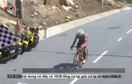Giải đua xe đạp toàn quốc: Nguyễn Trường Tài chắc tay giữ áo vàng