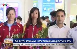 ĐT rowing Việt Nam trở về nước sau khi giành suất dự Olympic