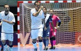 """Futsal World Cup 2016: """"Ông lớn"""" Italy quyết đè bẹp giấc mơ của futsal Việt Nam"""