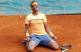 """Rafael Nadal giành cúp ở Monte Carlo lần thứ 9: """"Vua"""" đã hồi sinh"""