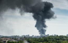 Cháy lớn ở chợ Đồng Xuân, Berlin (Đức)