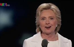 """Bà Hillary Clinton tranh cử Tổng thống với """"sự tự tin vô biên"""""""