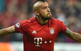 Vừa lập công cho Bayern, Vidal lập tức đi vào lịch sử Champions League