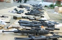 Bộ đội biên phòng Hải Phòng bắt 6 thùng đồ chơi nguy hiểm