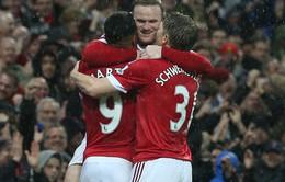 Van Gaal tâng trò cưng Rooney lên mây sau chiến thắng