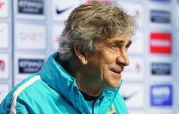 HLV Pellegrini: Hãy sa thải tôi sau khi Man City vô địch