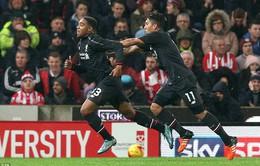 BK Capital One Cup: Thắng lượt đi, Liverpool đặt một chân vào chung kết