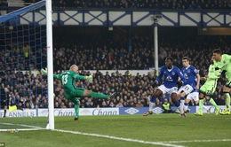 Lukaku nổ súng, Man City gặp bất lợi lớn trước trận lượt về