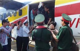 Dùng thủy phi cơ đưa bệnh nhân từ Trường Sa vào đất liền cấp cứu