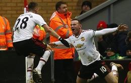 """""""Xé lưới"""" Liverpool, Rooney phá kỷ lục ghi bàn giải Ngoại hạng Anh"""