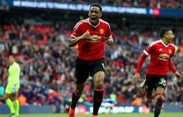 """Man Utd 2-1 Everton: """"Phép màu"""" Martial đưa Quỷ đỏ vào chung kết"""