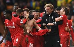 Hạ Norwich sau màn đọ công điên rồ, Liverpool có chiến thắng đầu tiên trong năm mới