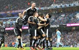 Vùi dập Man City tại Etihad, Leicester mở toang cánh cửa vô địch