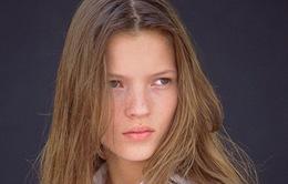 Kate Moss đẹp trong trẻo qua bộ ảnh tuổi 14