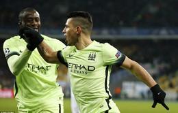 Toure ghi bàn muộn, Man City đứng trước cơ hội lần đầu vào tứ kết