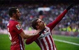 Griezmann nổ súng, Atletico đóng sập cánh cửa vô địch của Real Madrid