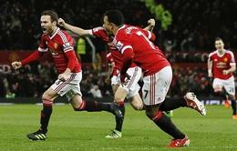 Man Utd 1-0 Watford: Đội trưởng Mata đưa Quỷ đỏ áp sát top 4