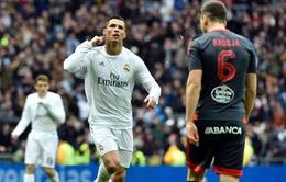 Ronaldo ghi 4 bàn, Real Madrid nghiền nát Celta Vigo bằng mưa gôn