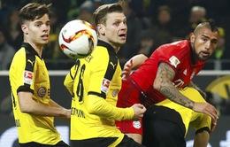 Siêu kinh điển nước Đức bất phân thắng bại, Bayern vững vàng ngôi đầu