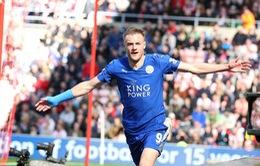 VIDEO Sunderland 0 - 2 Leicester: Vardy tỏa sáng, Leicester City tiến sát ngôi vương